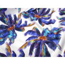 Purple Palms Spandex
