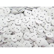 Heavy Duty Fashion Buttons- White FB101
