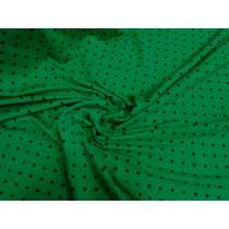 Evergreen Spot Viscose Jersey