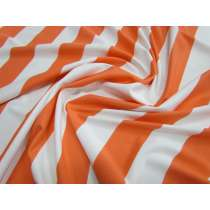 Yacht Stripe Spandex- Sundown *Imperfections