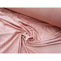 Slinky Stretch Jersey- Deep Blush