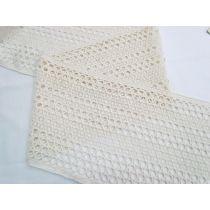 Sun Child 20cm Soft Cotton Blend Lace- Cream