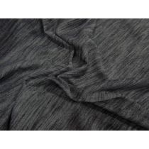 Soft Active Marle Jersey- Charcoal #1022