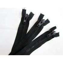 Zipper Bundle- Super Chunky Closed End- 28cm Black- 3 for $5