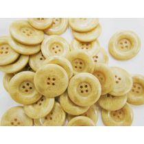 28mm Cream Fashion Buttons- FB103