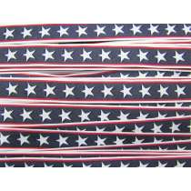 Stars and Stripes Ribbon Trim