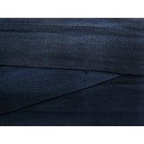 5cm Wide Cotton Tape- Nautical Navy
