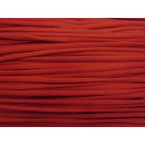 5mm Knitted Drawstring Cord- Red