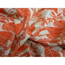 Tropical Window View Linen
