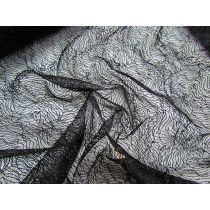 Capillary Lace- Black