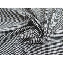 Remi Gingham Check- Black & White