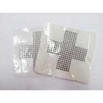 Studded Embellishment Motif Bundle- Cross- 3 for $5