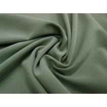 Bonded Stretch Crepe-Gum Leaf Green #1009