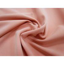 Bonded Stretch Crepe- Peach Blossom #1021