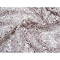 Careless Whisper Stretch Sequin Lace
