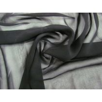 Silk Chiffon- Belladonna Black