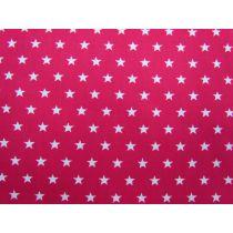 Spots & Stripes- Stars- Lipstick Pink