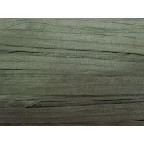 19mm Shiny Fold Over Elastic- Khaki Olive #002