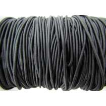 2mm Bungee Cord Elastic- Black #006