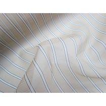 Harlem Stripe Silk Organza