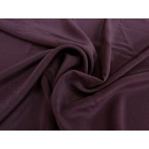 Silk Crepe De Chine- Blackcurrant