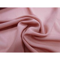 Silk Viscose Blend Chiffon- Savanna Rose