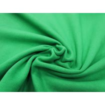 Dense Cotton Fleece- Kelly Green #1089