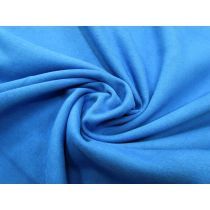 Dense Cotton Fleece- Major Blue #1090