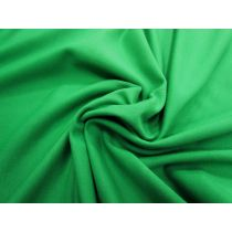 2-Way Stretch Unbrushed Fleece- Green #1092