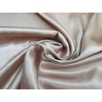 Charmeuse Satin- Soft Bronze #1096