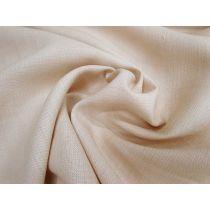 Italian Linen Look Suiting- Caramel Cream