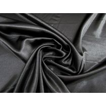 Stretch Satin- Black Out #1106
