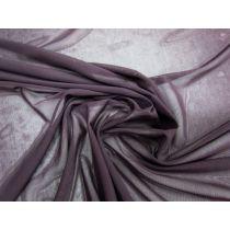 2-Way Stretch Mesh- Dark Aubergine #1108