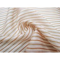 Retro Resort Stripe Silk