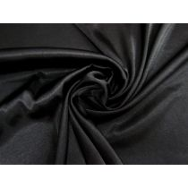 Stretch Satin- Evening Black #1110