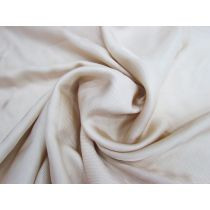 Satin Finish Viscose Twill- Pale Toffee