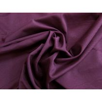 Lightweight Stretch Faille- Dark Berry #1118