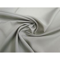 Lightweight Crepe de Chine- Ash Grey #1120