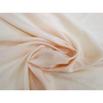 Lightweight Crepe de Chine- Pale Peach #1122