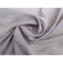 Lightweight Crepe de Chine- Mauve Grey #1123