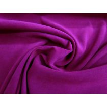 Stretch Suede- Dark Magenta