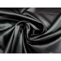 Stretch Satin- Soft Black #1128
