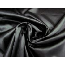 Stretch Satin- Soft Black #1128