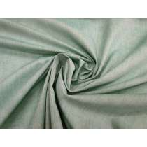 Shot Cotton Blend Shirting- Mint Leaf