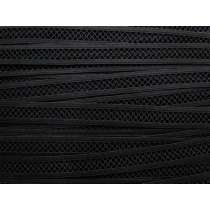 15mm Mesh Look Lattice Elastic- Black #111