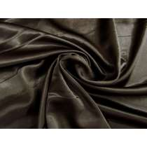 Stretch Satin- Cafe Brown #1129