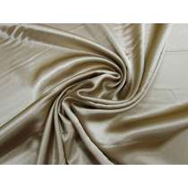 Stretch Satin-Beige Brass #1131