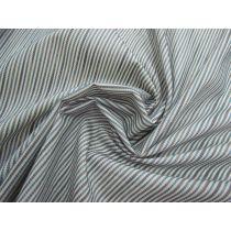 Mini Seaside Stripe Embroidered Cotton