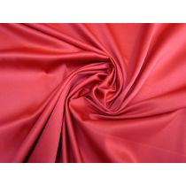 Lightweight Stretch Satin- Crimson Red #1135