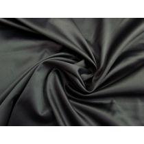 Lustrous Cotton Blend Sateen- Charcoal #1144